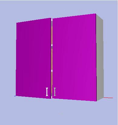 Modulo mueble alto cocina kit completo 70x x33 2p for Muebles de cocina kit completos