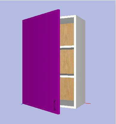Modulo/Mueble Alto Cocina Kit Completo 90x##x33