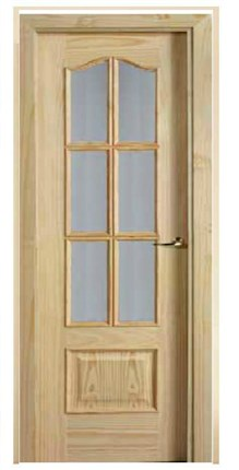 Puerta Block Serie 22R Roble 6v