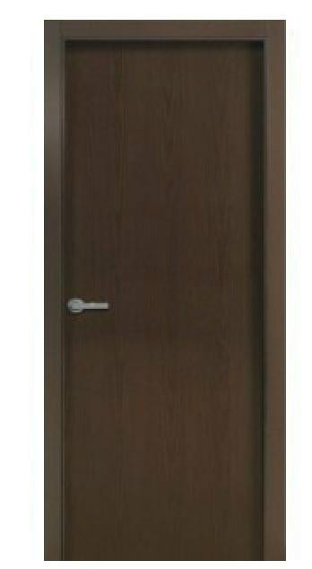 Puerta block serie lisa wengue for Puertas color wengue
