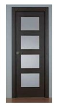 Puerta Block Serie MH-NH4VR Wengué 600